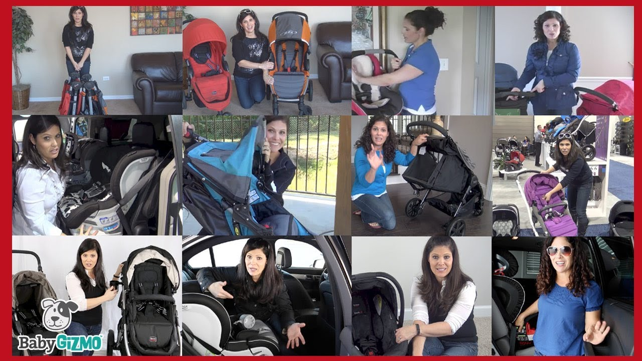 BRITAX And BOB Stroller Car Seat FLASHBACK With Baby Gizmo