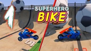 Superhero tricky bike race(kids games) Android & ios Game play #1