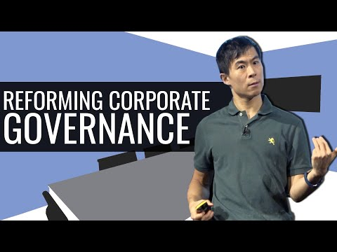 Reforming Corporate Governance
