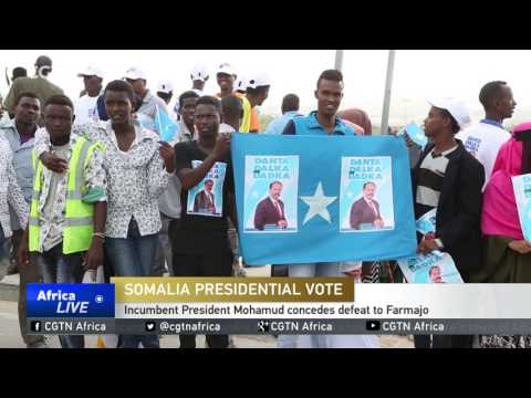 Incumbent President Mohamud concedes defeat to Farmajo