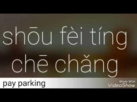 Mandarin Video Journal: Pay parking