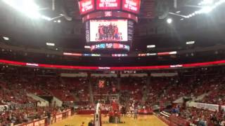 NC State Wolfpack basketball game PNC Arena. Raleigh NC 2013