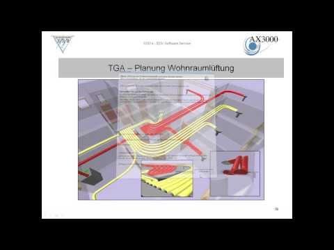 ESS AX3000 Energieausweis-Simulation-Wohnraumlüftung Basis Allplan