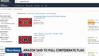Amazon Said to Ban Confederate Flag Products
