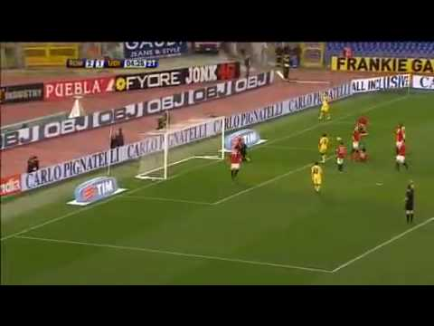 Roma-Udinese 4-2 20/03/2010 Highlights & Goals SKY SPORT HD