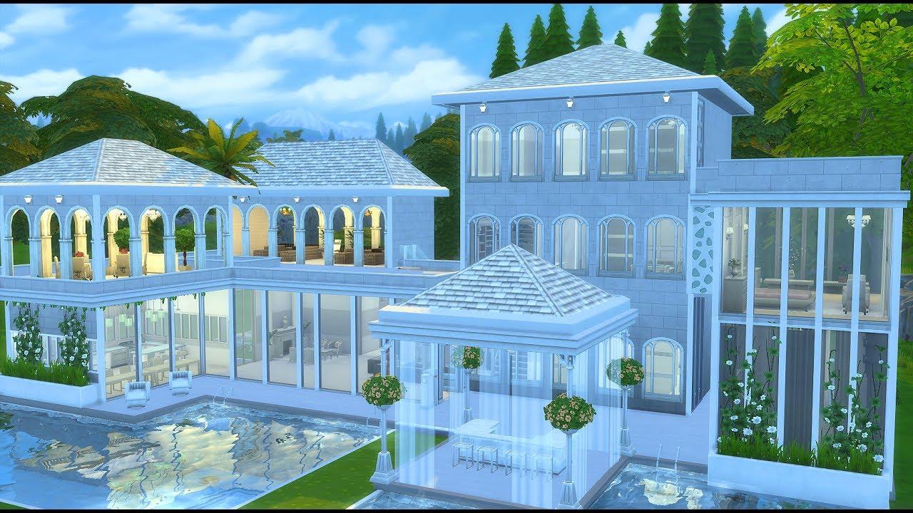 심즈 4 하우스 로맨틱한 집짓기 배포 The Sims 4 Speed Build Romantic