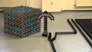MINECRAFT: TPT 2013 - The Falldown - 55,555 Dominoes!