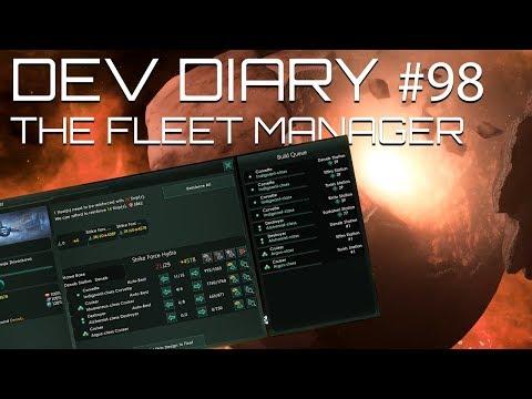 Stellaris - Dev Diary #98 - Finally a fleet manager