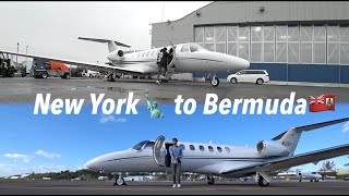 Private Jet Flight to Bermuda!