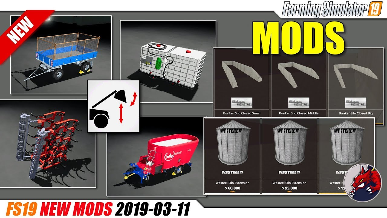 FS19 | New Mods (2019-03-11) - review