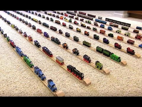 Thumbnail: Thomas Wooden Railway Collection (#6)