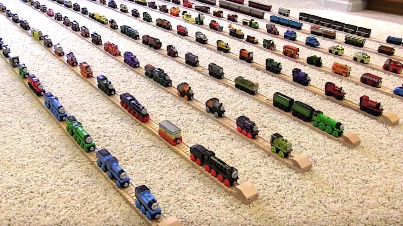 Thomas Wooden Railway Collection 6 Youtube