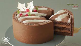 크리스마스 초콜릿 케이크 만들기 : Christmas …