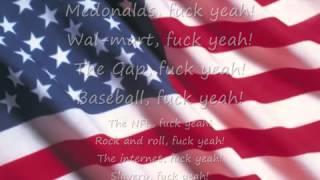 Team America- America F*** Yeah- Lyrics