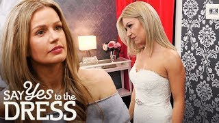 Download Bride is Not Afraid to Tell Entourage to Screw Themselves! | Say Yes To The Dress UK Mp3 and Videos