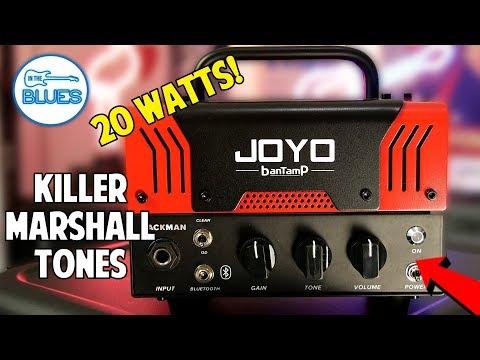 Joyo BantAmp Jackman Marshall 20 Watt Amplifier Head Review