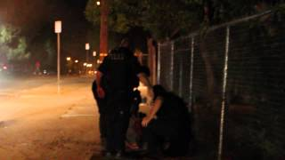 Fresno P.D. Foot Chase w/ Fighting Suspects @ Police State Fresno Fair