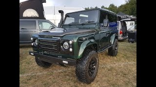 Land Rover Defender Restoration 2019 Game Fair