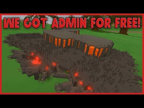 WE GOT ADMIN FOR FREE ON THIS UNTURNED SERVER! THEN GOT BANNED!