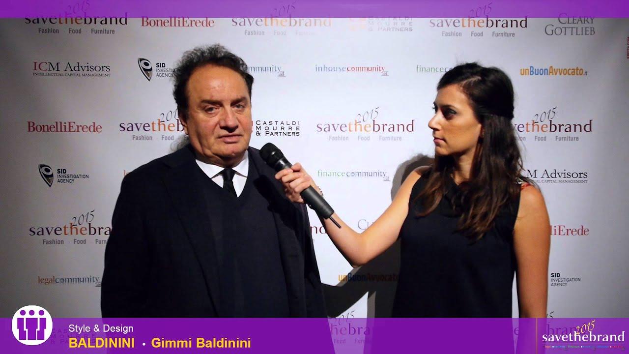 Gimmi Baldinini - Save The Brand 2015  Fashion Food Furniture