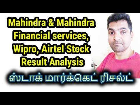 Stock RESULTS - Mahindra & mahindra financial | WIPRO | KSB Pumps