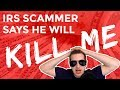 Crazy IRS Scammer Threatens To Kill Old Lady Over $200