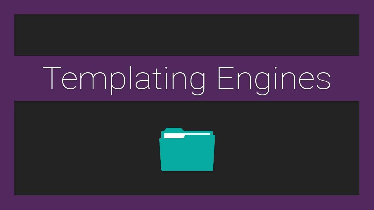 How to Use Template Engines for Beginners in Node.js