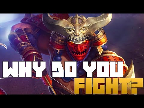Why do the Gods of smite fight?