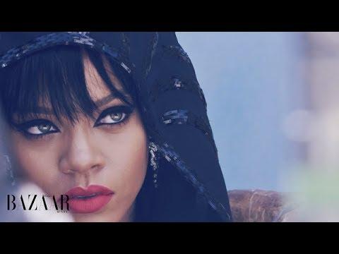 Rihanna of Arabia Harper's Bazaar Cover Makeup Tutorial