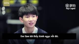 [Vietsub] Vương Nguyên - Phỏng vấn CGTN và kể chuyện bạn nghe!