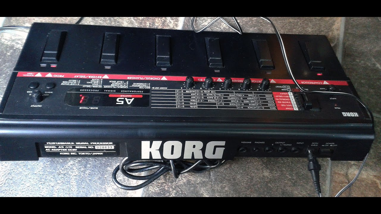 patches korg ax30g