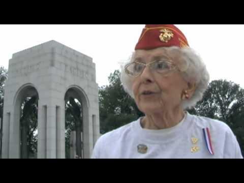 Marie Peckham, Marine Veteran - World War II