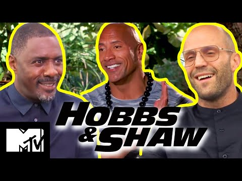 Hobbs & Shaw Cast Play How Well Do You Really Know Each Other