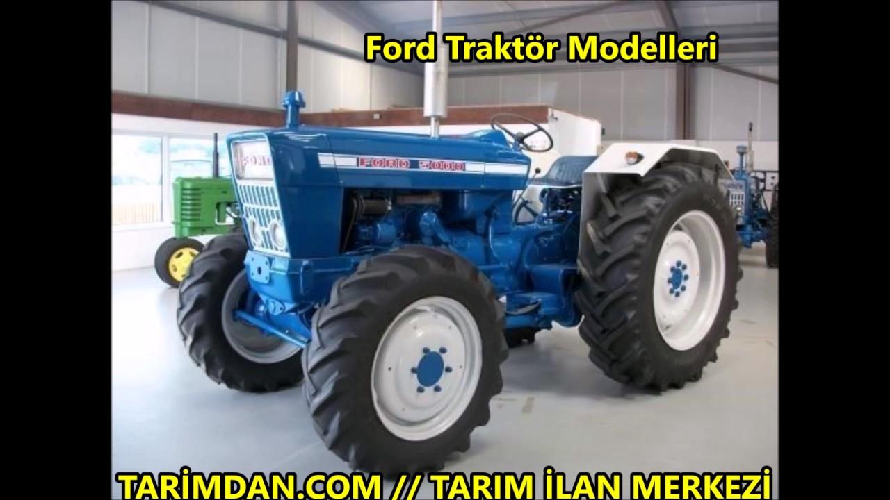 ford traktör modelleri - youtube