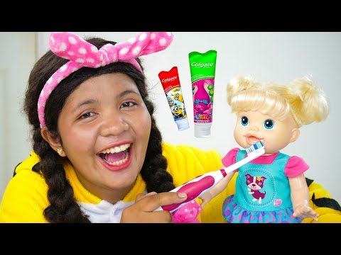 Brush Your Teeth Song Nursery Rhymes for Kids
