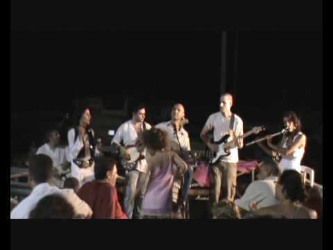 Darbejin - ethnic music and soft rock band from Israel @ Tel Aviv - Jaffa festival