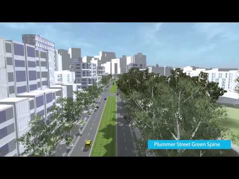Vision For Fishermans Bend 3D Fly Through