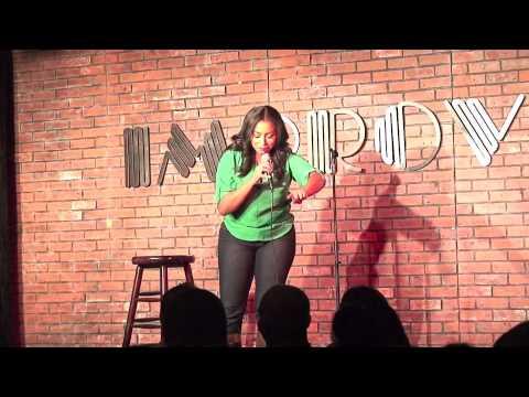 How guys hit on Women and Other JOKES- K104 LMAO Comedy at the Improv Jasmine Ellis