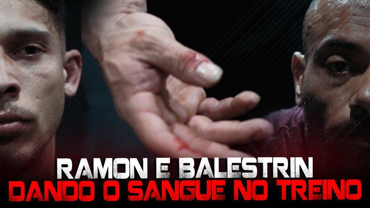 RAMON DINO DANDO O SANGUE NO TREINO COM BALESTRIN