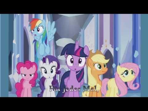 MLP:EQG  My Little Pony Friends Music Video Ger Sub1080p