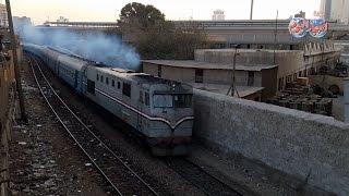 أخبار اليوم | قبل حدوث الكارثة .. القطارات  تهدد عشوائيات « سيدي فرج » بالانهيار