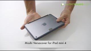 Gambar cover Moshi Versacover for iPad mini 4 - Best iPad mini 4 Cases - 99MO064001