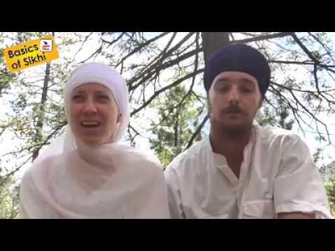 White Sikh Couple on Inter-Faith Anand Kaaraj