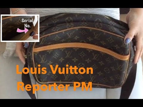 a7f28ffbe4d1 LOUIS VUITTON Monogram REPORTER PM Crossbody Messenger Shoulder Bag -  14