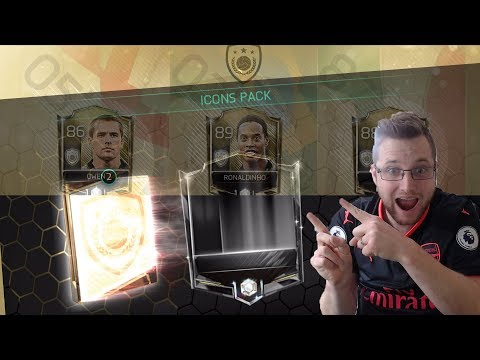 Thumbnail: Icons Are in FIFA Mobile 18! FIFA Mobile Icons Bundle Plus Icon Michael Owen Gameplay! FIFA Football