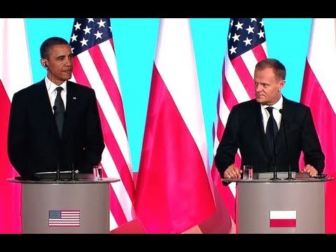 President Obama and Prime Minister Tusk Press Conference