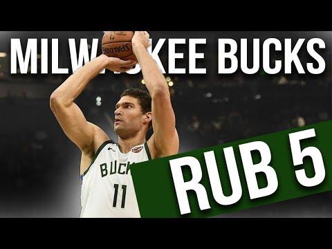 Milwaukee Bucks Rub 5 | Brook Lopez Pick & Pop