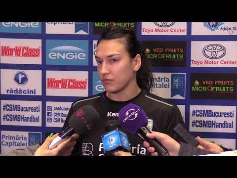 Cristina Neagu, declaratii inaintea meciului EHF: CSM Bucuresti vs. Rostov Don