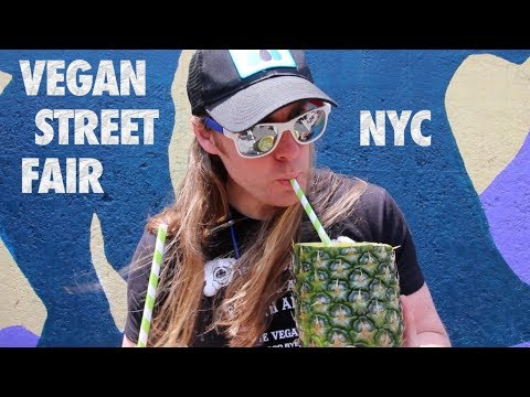 Vegan Street Fair NYC 2017 - What I Ate as a Vegan