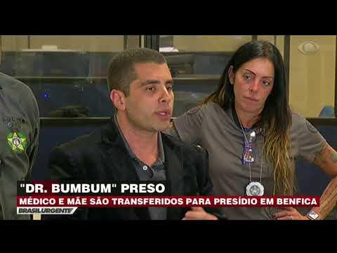 'Doutor Bumbum' é transferido para presídio em Benfica